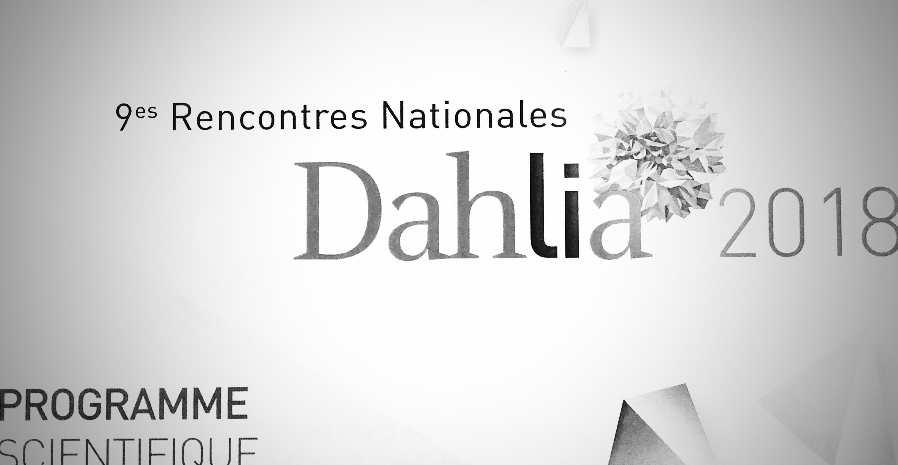 DAHLIA 2018 : LA MEDECINE CONNECTEE .. ALLO TONTON, POURQUOI TU TOUSSES?